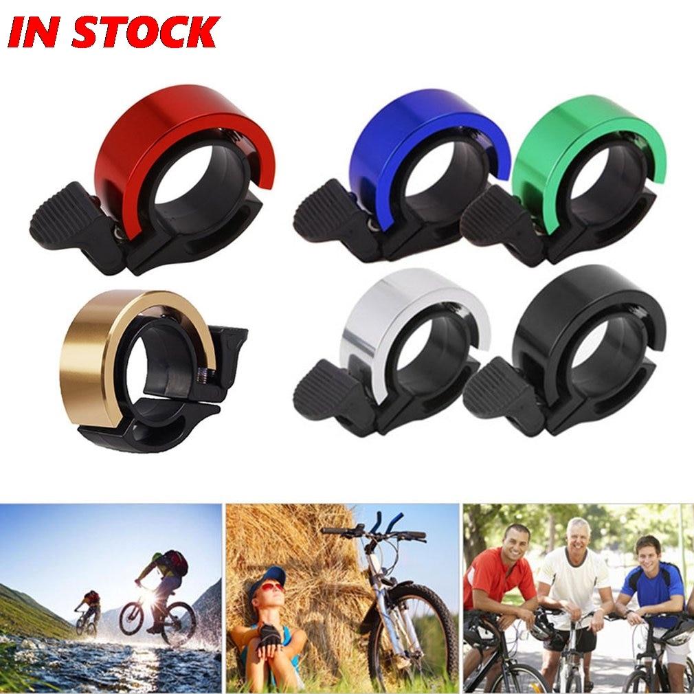 Mini Bicycle Bell Aluminum Alloy Bike Horn Cycling Handlebar Alarm Doorbell