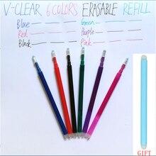 מחיק עט מכתבים מילוי חיכוך ג ל עט משרד אספקת ציור Frixion מילוי עט תלמיד 6 צבעים 0.7mm Frixion עט