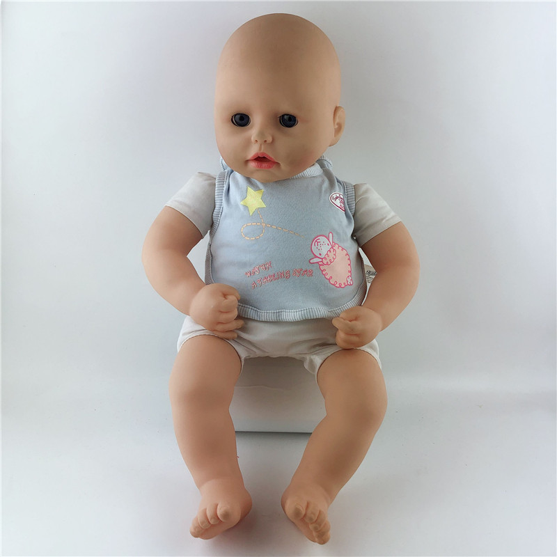 Bibs Doll Clothes Wear Fit For 46cm/18nch Baby Doll, Children Best Birthday Gift(only Sell Clothes)