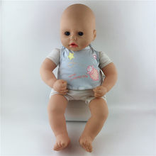Bibs Doll Clothes Wear fit for 46cm/18nch baby doll, Children best Birthday Gift(only sell clothes)(China)