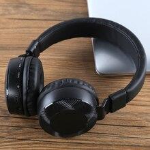 Fones de ouvido estéreo sem fio, headset bluetooth 5.0 com microfone e áudio mp3 play para iphone, samsung e pc