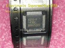 Free Shipping 50pcs/lots AS15 F AS15F AS15 15 F QFP48 LCD chip New original  IC