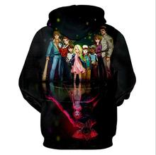 Dropship 3D Printed Hoodie Men/Women Stranger Things 3 Sweatshirts Tracksuit Hooded Hoodies Unisex