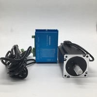 NEMA34 86mm Flange 12Nm 1714Oz in DSP Closed Loop Hybrid Stepper Motor &Drive Kit Easy Servo for CNC With Coolling Fan