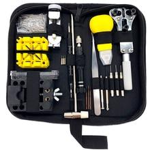 Opener Watch-Repair-Tool-Kit Link-Pin-Remover-Case Gereedschap-Repair Horlogemaker 148pcs