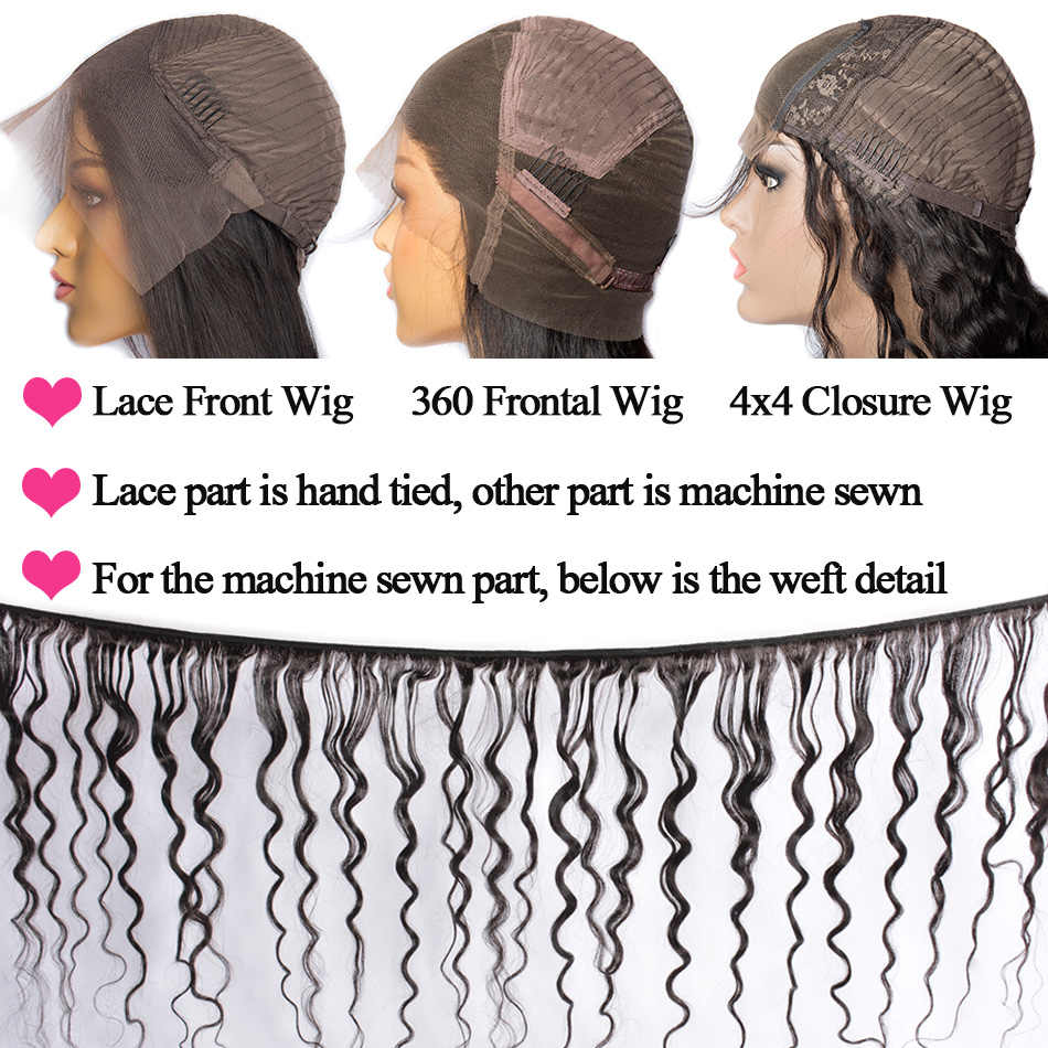 Малазийские волнистые 4x4 парик с закрытием шнурка 10-24 дюймов парик из человеческих волос парик с шнурком предварительно сорвал с детскими волосами парик с кружевом