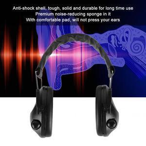 Image 5 - טקטיקות ירי אלקטרוני Earmuff חיצוני ספורט נגד רעש הפחתת אוזניות מגן אוזניות מתקפל שמיעה להגן