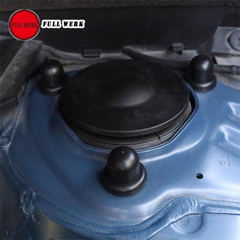 Rustproof porta de suspensão do carro rolha dobradiça parafuso capa protetor porca parafuso para subaru forester outback legado xv interior ac