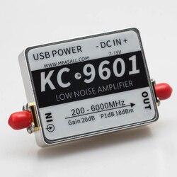 6GHz 20dB módulo amplificador de bajo ruido 5,8G amplificador 2,4G KC9601 bajo ruido