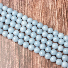 Hot Sale Natural Stone Natural Aquamarine Beads 15.5 Pick Size: 4 6 8 10 mm fit Diy Charms Beads Jewelry Making Accessories