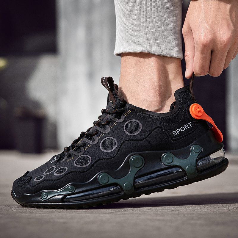 Men Sneakers 2020 Summer Running Shoes For Men Air Cushioning Sport Shoes Men Breathable Flats Training Shoes Zapatos De Hombre