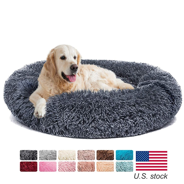 Pets Alpha Comfortable Super Soft Washable Pets Beds 1