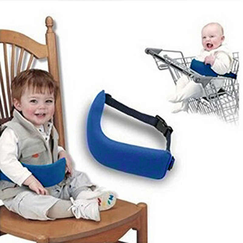 Sale-New Baby High Chair Seat Safety Belt Baby Chair Seat Feeding Harness Baby Chair Safety Belt Adjustable Strap with Buckle