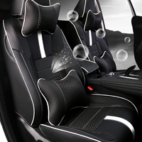 Lsrtw2017 Leather Car Seat Cover for Great Wall Haval F7 F7x Waterproof Breathable Interior Accessories 2019 2020