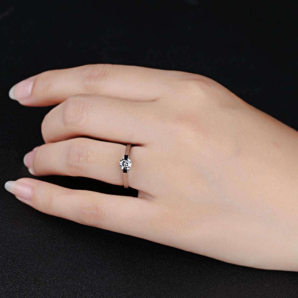 Bague OPK haute qualité bijoux coréens acier inoxydable bague femme anneau huit coeurs huit flèches ne changent pas de couleur