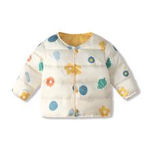 2020 jesienne zimowe ciepłe kurtki dla dziewczynek płaszcze dla chłopców kurtki dziewczynek kurtki dziecięca odzież wierzchnia płaszcz dziecięcy tanie tanio Unini-yun COTTON 0 25 Moda Cartoon REGULAR Kołnierzyka Pojedyncze piersi Dziewczyny Pasuje prawda na wymiar weź swój normalny rozmiar