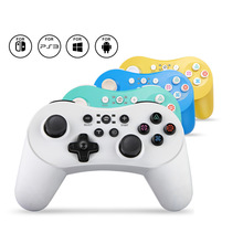 Bluetooth Wireless Controller Mini Gamepad Six Axis Double Vibration For Switch PS3 PC Android PC360 Support Switch PS3 Game Pad геймпад беспроводной sven gc 3050 13 кл 2 мини джойстика d pad soft touch pc ps3 xinput