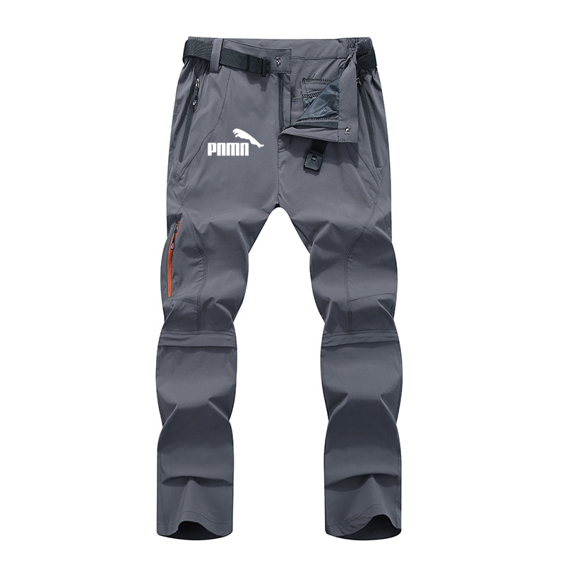 Men's Quick Dry Removable Hiking Pants for Men Outdoor Mens Summer Breathable Shorts Men Mountain Camping Trekking Trousers