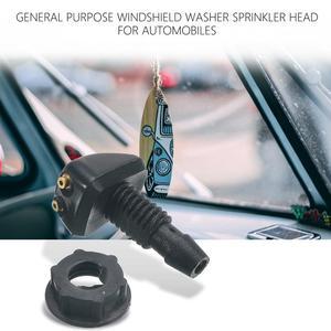 Автомобильный Универсальный Очиститель головки лобового стекла разбрызгиватель вентилятор в форме носика крышка водная розетка Регулировка сопла горячая распродажа