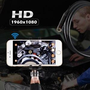 Image 5 - KERUI F110 su geçirmez 1080P el WIFI1M 3M kablo 8mm endoskop çok amaçlı muayene Android kamera IOS telefon