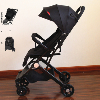 цена Baby stroller ultra light folding portable simple child high landscape can sit reclining baby stroller on the plane онлайн в 2017 году