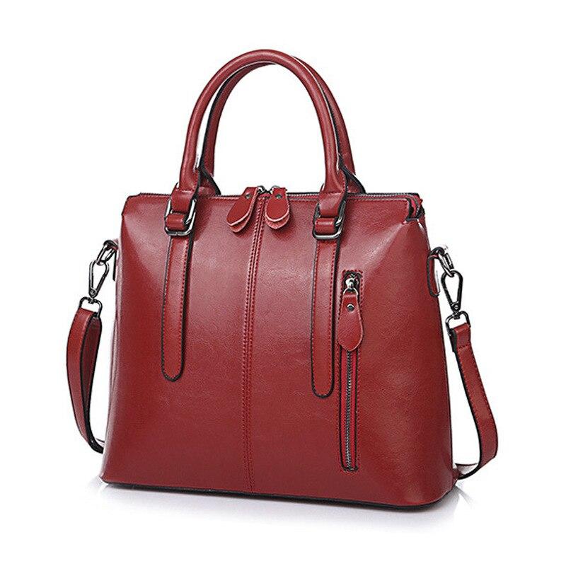 Vintage en cuir véritable de luxe femmes sacs marque Designer sac à main de haute qualité fourre-tout Laides sacs à bandoulière bolsa feminina C1180