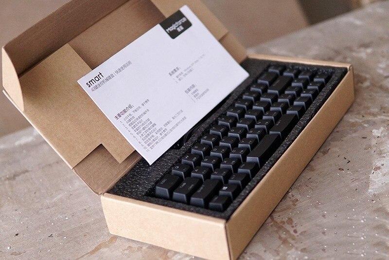 עכברים - מקלדות Magigforce Smart 49 מפתח 40% USB Mini Wired backlit מקלדת מכנית עם Detacheable בכבלים Gateron שרי ציר teclado גיימר (5)