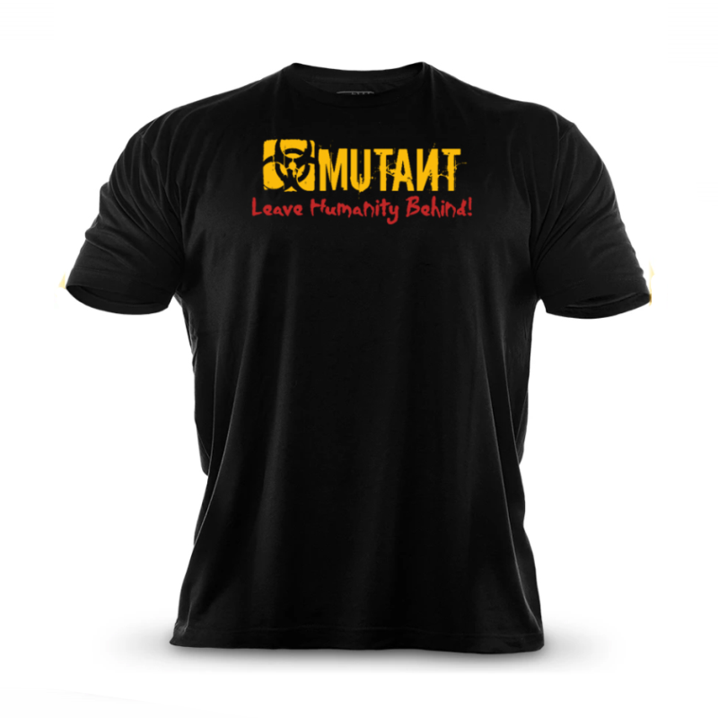 2019 Brand Men T-Shirt Fitness Slim Fit Shirts  Short Sleeve Cotton Clothes Fashion Leisure O-Neck MUTANT Printed Tee