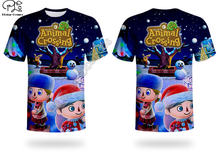 Christmas animal crossing 3d printed harajuku streetwear t shirts