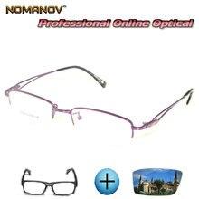 Изготовленные на заказ очки по рецепту оптические фотохромные