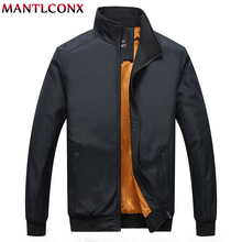 MANTLCONX 6XL 7XL 8XL Jacket Men Winter 2019 New Mens Jackets Casual Coats Thicken Warm Brand Clothing Male Fleece