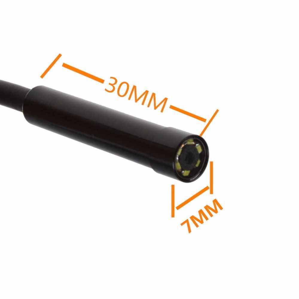 LESHP 内視鏡 6 LED 7 ミリメートルレンズケーブル防水ミニ USB 検査ボアスコープカメラ Android 640*480 電話 /1280*720 PC