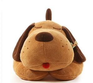 Image 4 - 40/70/90 см, плюшевая игрушка, большая Спящая собака, мягкая игрушка животное
