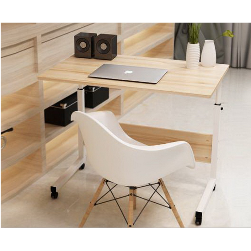 250316/Multi - Functional Design /Removable Bed Computer Desk/Lazy Simple Desk /lift Folding Table/Paint Steel Pipe/