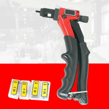 цена на Manual Rivet Nail Gun Alloy Steel Woodworking Metalworking Rivet Gun Labor-saving Nail Pulling Tools OW-BT603