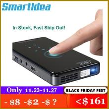 SmartIdea X2 HD 핸드 헬드 DLP 프로젝터 안드로이드 7.1 와이파이 블루투스 4.1 피코 포켓 Proyector HD 휴대용 비머 미라 캐스트 Airplay