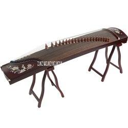 Guzheng Alat Tangan Kayu Solid-Ukiran Kinerja Profesional Guzheng dengan Set Lengkap Aksesoris Mewah XSb001
