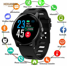 Men Smart Watch S08 IP68 Waterproof  Fitness Tracker Heart Rate monitor Smartwatch Women Clock for android IOS Phone PK P2 T5 L9