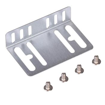 1 Set Metal Holder And Screw Fit For Universal 2 Din Car Radio MP5 Installation Mounting Accessories image