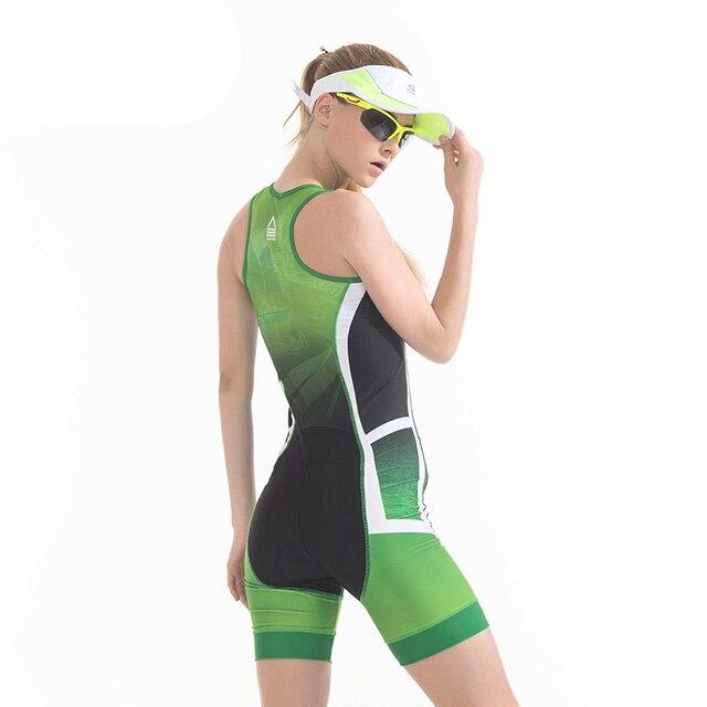 Correndo bicicleta conjunto de esportes pro equipe triathlon terno das mulheres ciclismo camisa skinsuit macacão roupas ciclismo 2