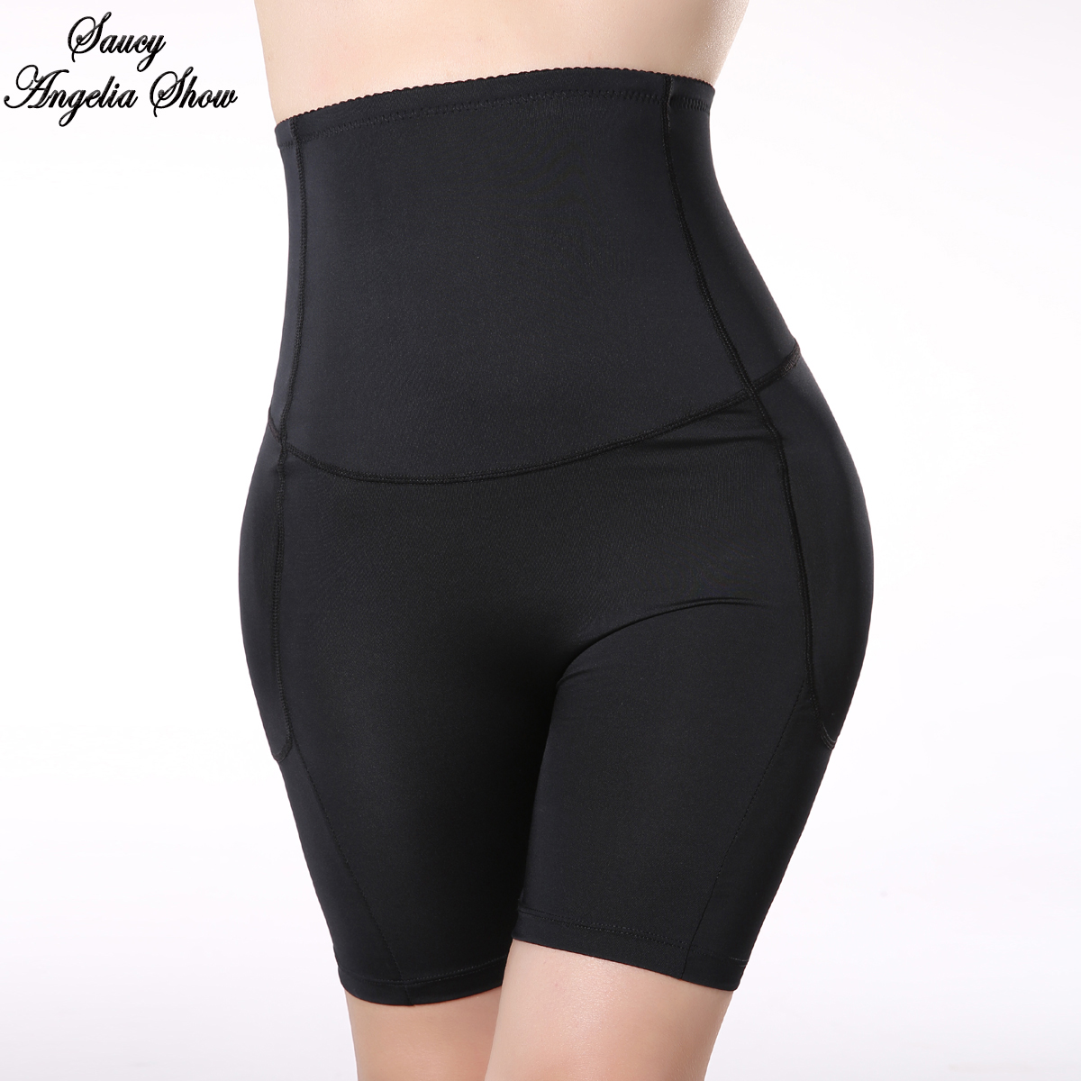 New <font><b>Sexy</b></font> <font><b>Women</b></font> Waist Trainer <font><b>Breathable</b></font> Corset Belly Shapewear Lingerie Hip Paded Booty Butt Lifter Body Shaper Bodysuit <font><b>Panties</b></font> image