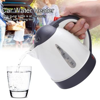 1000ml Electric Kettle Fast Hot Boiling for Tea Coffee Portable Travel Car Truck Water Boiler Coffee Making Pot wasserkocher 12V car based heating stainless steel cup kettle travel trip coffee tea heated mug motor hot water for car or truck use 750ml 12v