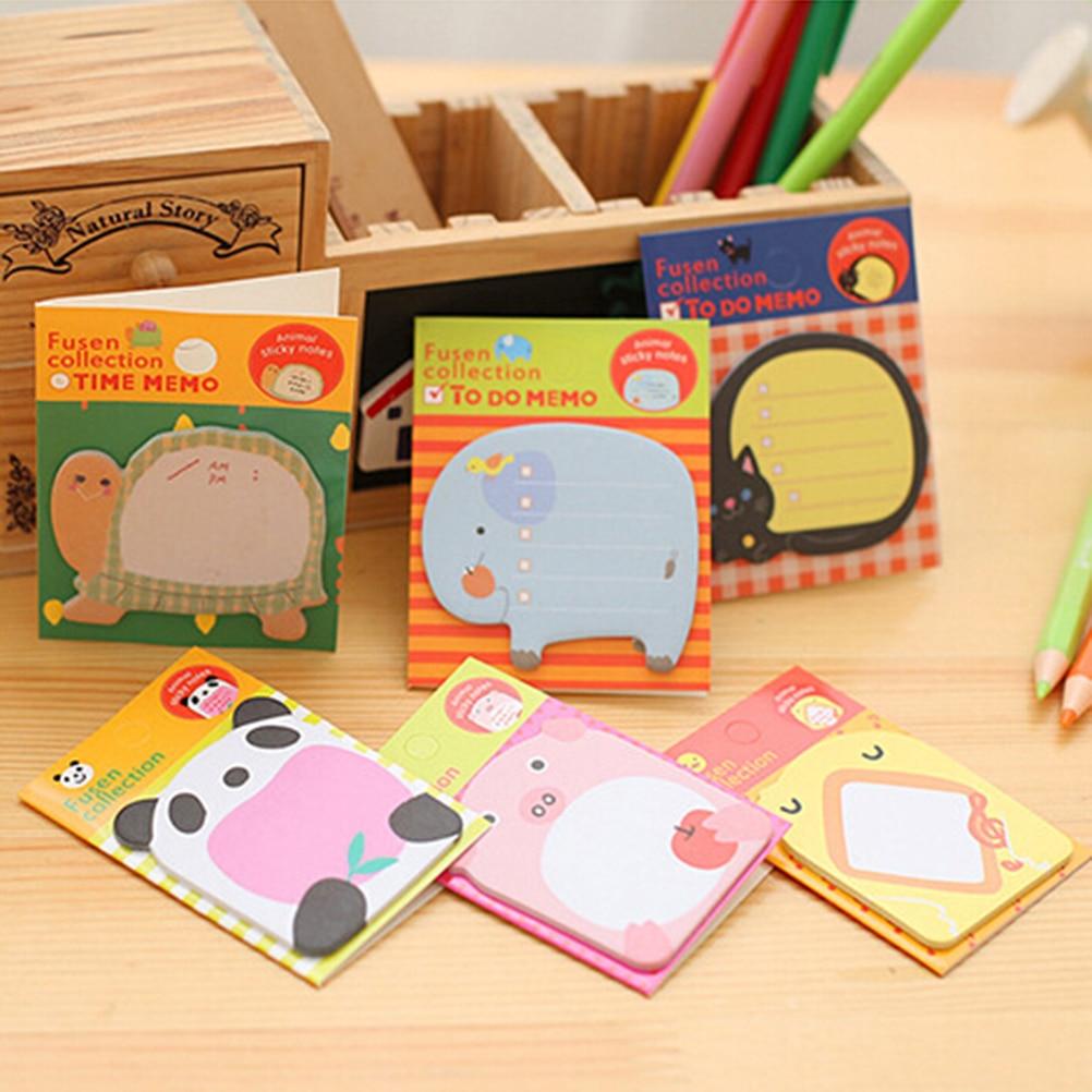 1 шт. лесные животные серии милые бумажные наклейки липкие заметки Детские Классические наклейки, игрушки школьные принадлежности игрушки 2,5*3,5 см