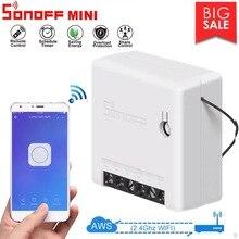 10Pcs Sonoff Mini Smart Wifi Switch DIY Mode eWeLink APP Remote Control Sonoff Switch Smart Home Google Home Alexa Amazon Voice цена 2017