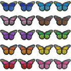 20 Pieces Butterfly ...