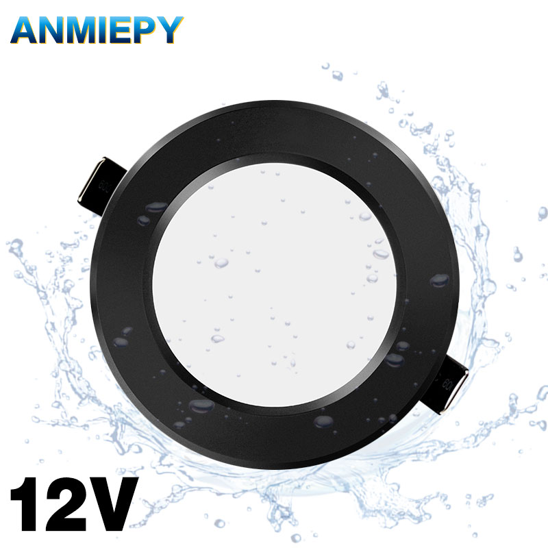 12V Led Downlight 5W 7W 9W Waterproof IP65 Led Spot Safety Voltage Downlights Ceiling Round Down Light Led Panel Light