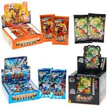 DRAGON BALL Full Set Limited Edition Anime Figures Hero Card Son Goku Super Saiyan Vegeta IV Bronzing Barrage Flash Cards