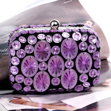 Fashion Diamonds Evening Party Bag For Women Clutch Luxury Chain Ladies Shoulder Messenger Bags Chic Female Handbags Purses New