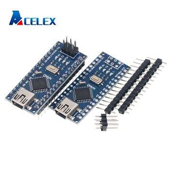 NANO V3.0 3.0 kontroler Terminal Adapter karta rozszerzenia prosta płyta przedłużająca dla Arduino AVR ATMEGA328P
