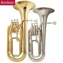 Высококачественный абсолютно Eb Alto Horn 3 поршневой розовый латунный звонок с Чехол